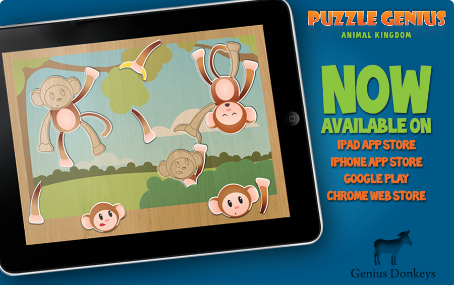 Puzzle Genius: Animal Kingdom OUT NOW!